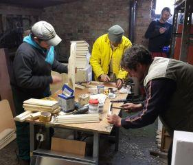 (01) Leden - Výroba našich prvních úlů a příprava na první včelařskou sezónu